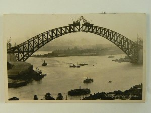 Sydney Harbour Bridge, 1930